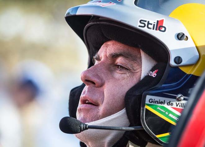 GINIEL DE VILLIERS: He and his navigator Dirk von Zitzewitz took their Toyota SA Hilux bakkie to a win on the final stage of the 2015 Morocco Rally on Friday (Oct 9). image courtesy Toyota SA