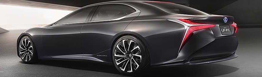 Lexus flagship fuel-cell car