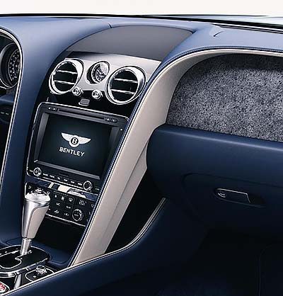 STONE OF YOUR OWN: Bentley is now offering a new - or should we rather say ancient? - material to enhance and decorate its luxury automobiles. Image: Newspress / Motors