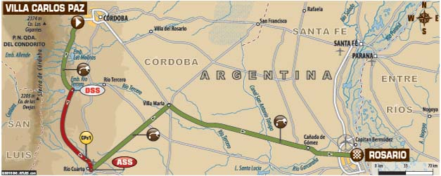 DAKAR 2016 - THE FINAL STAGE: The run from Villa Carlos Paz to the finish in Rosario.