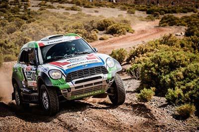 Mini crossing Andes Dakar 2016