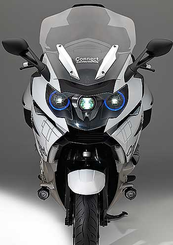 HIGH-TECH LASERS FOR BIKES: Image: BMW Motorrad