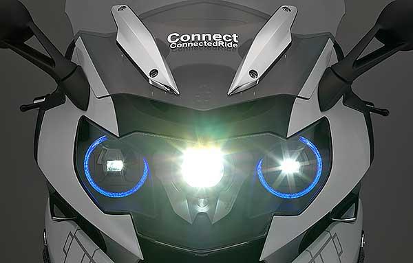 SEING THE LIGHT: Image: BMW Motorrad