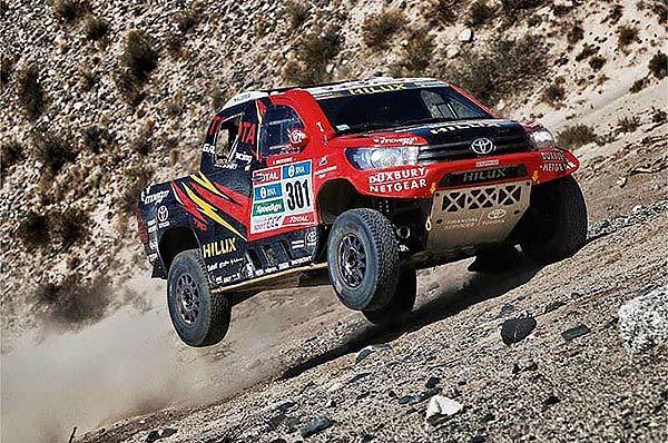 Leeroy Poulter, Toyota, 2016 Dakar Stage 12