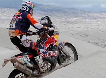 Toby Price KTM 2016 Dakar