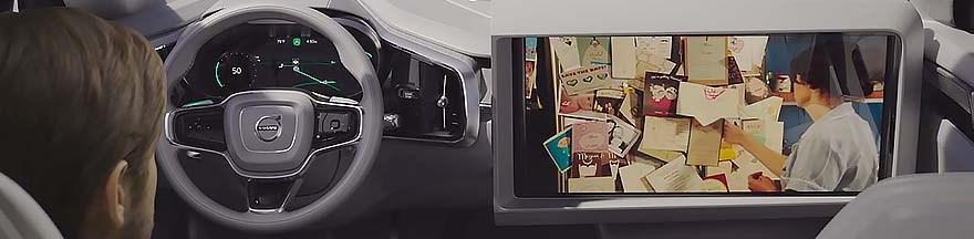Volvo autonomous video streaming