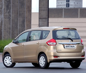 2016 Suzuki Ertiga image: Suzuki Motors