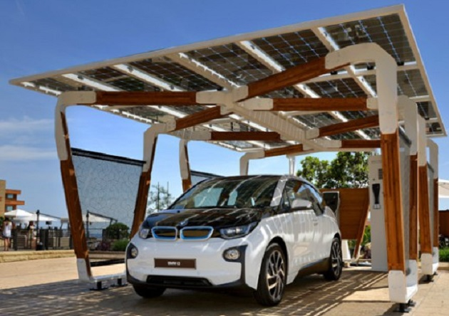 BMW carports - will the idea boost sales of electric cars?