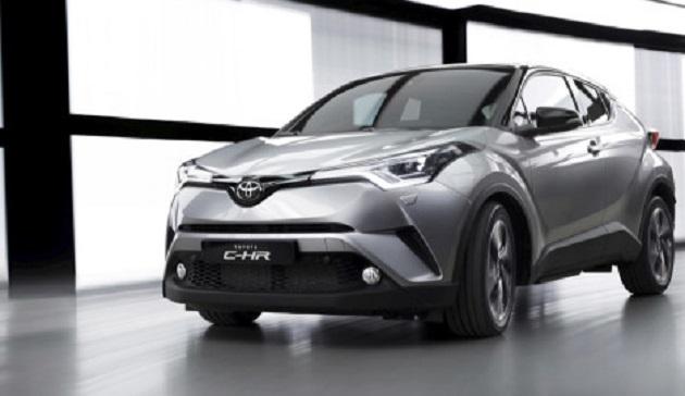 Toyota C-HR Geneva 2016