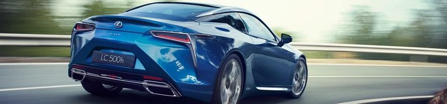 Lexus LC400h at 2016 Geneva auto show