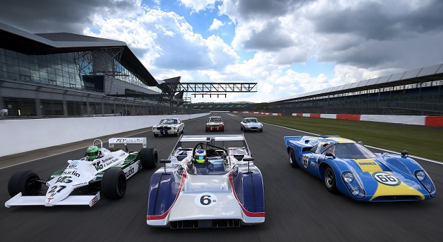 Silverstone 2016 Classic Cars