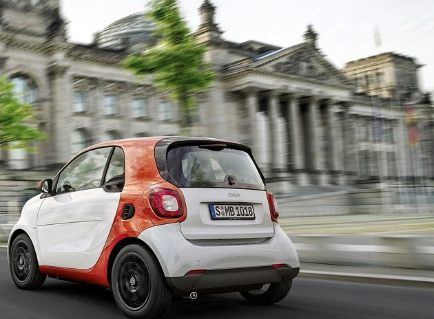 2016 new Smart ForTwo and FourFour