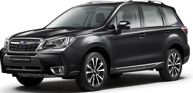 This is the rugged Forester SUV - formidable for off-road driving. Image: Subaru