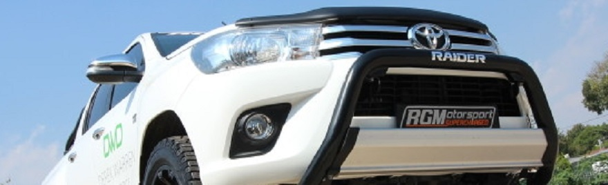 2016 supercharged Toyota Hilux bakkie
