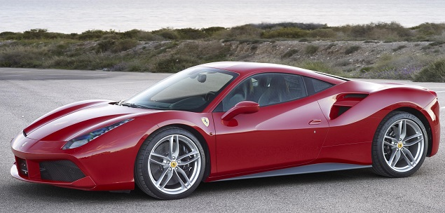 Ferrari took the overall award for the twin-turbo V8 that powers its 488 GTB