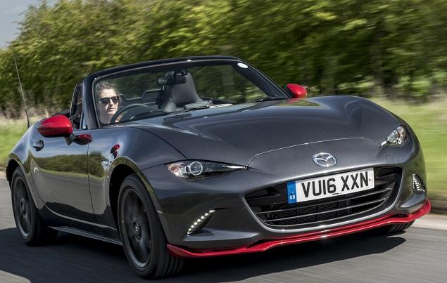 BOLD CAPS: Text. Image: Mazda