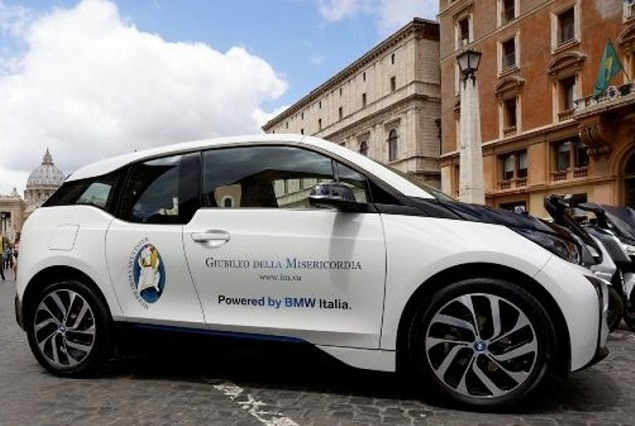 Papal electric police vehicles fleet