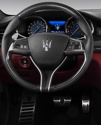 Maserati Quattroporto. Image: Maserati