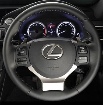 2016 Lexus RC 200t. Image: Lexus SA