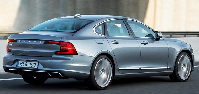 2016 Volvo S90 sedan. Image: Volvo Cars