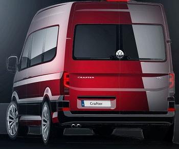 2017 Volkswagen Crafter. Image: VW