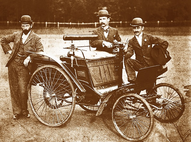 First car to reach South Africa