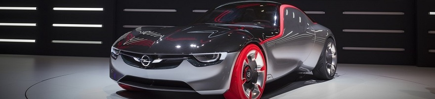 Opel GT Concept wins 2016 top design award. Image: Opel Germany