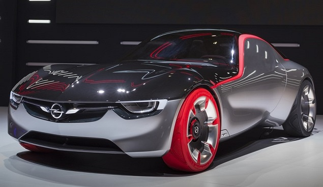 Opel GT Concept wins 2016 top design award. Image: Opel Germany