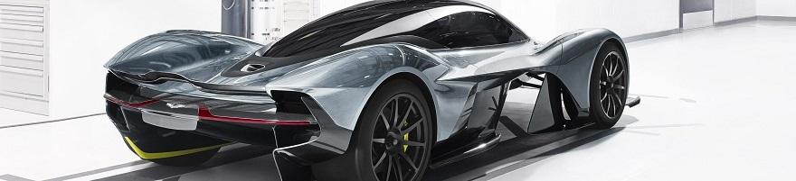 CODENAME: AM-RB 001: The 2018 Aston Martin/Red Bull Racing hypercar. Image: Aston Martin