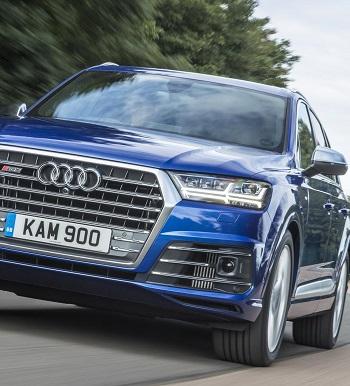 2016 Audi SQ7 SUV. Image: Newspress/Audi UK