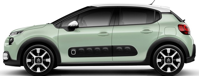 citro n c3 here comes the 2017 version carman 39 s corner. Black Bedroom Furniture Sets. Home Design Ideas