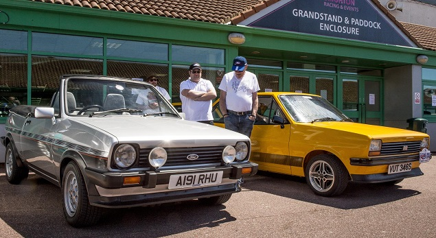 Ford Fiesta celebrates four decades. Image: Newspress/Ford Britain