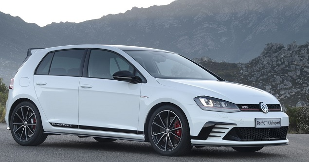 2016 VW Golf GTI Clubsport Image: VW