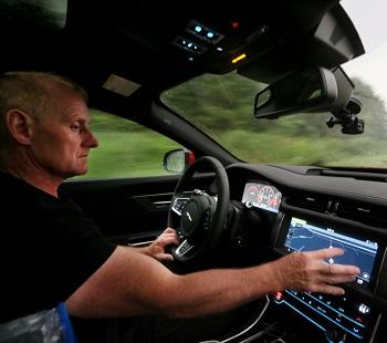 Chasing tornados in a Jaguar XF