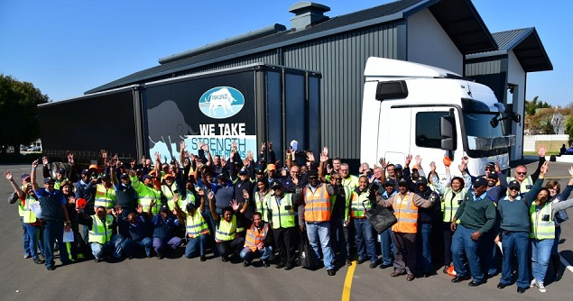 ROAD WARRIORS: The FleetWatch team which took part in the truck survey. Image: FleetWatch