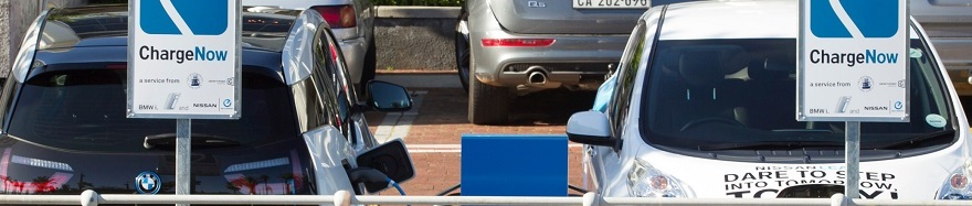 POWER TO THE PEOPLE: Well, to BMW and Nissan owners in Cape Town as three battery-car charging stations open at the Waterfront. Image: Motorpress