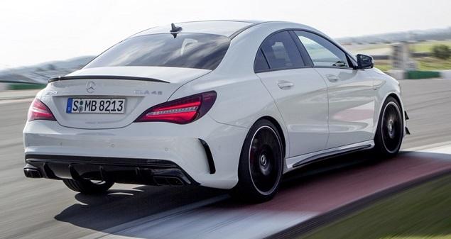 2016 Mercedes-Benz CLA. Image: Mercedes-AMG