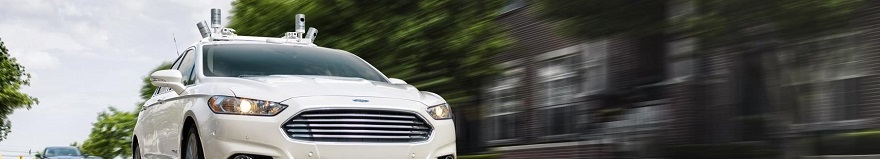 FORD THREAT TO UBER: Autonomous taxis for real by 2021. Image: Ford/Newspress
