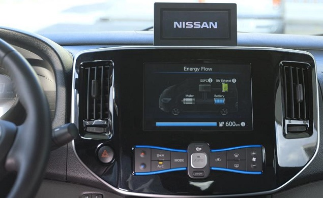 NISSAN GOES BIO: Image: Nissan Motor/Newspress