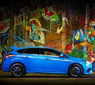 FASTEST FOCUS: The 2016 Ford Focus RS Mountune: Image: Ford Britain/Newspress
