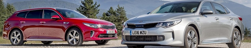 KIA GOES SUPERHYBRID: The 2016 Kia Optima PHEV has been launched in Europe. Image: Newspress/Kia Motors
