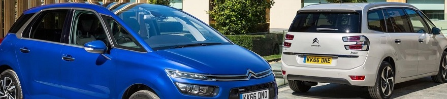 Earlier Citroën C4 Picasso / Grand Picasso. Image: Newspress/Citroën