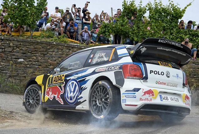Rally Germany 2016 Ogier Ingrassia