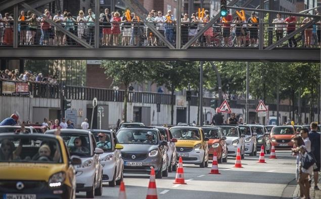 WOTALOTWEGOT (with apologies to Smarties): Smart Times 2016 Hamburg. Image: Smart
