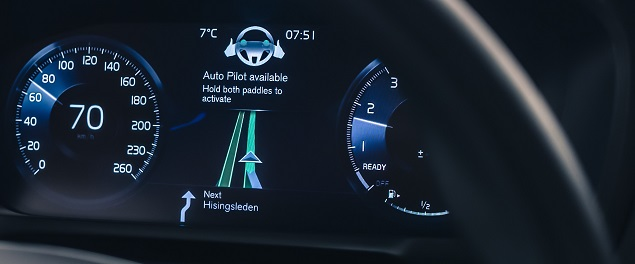 IntelliSafe Auto Pilot interface Image: Volvo Cars