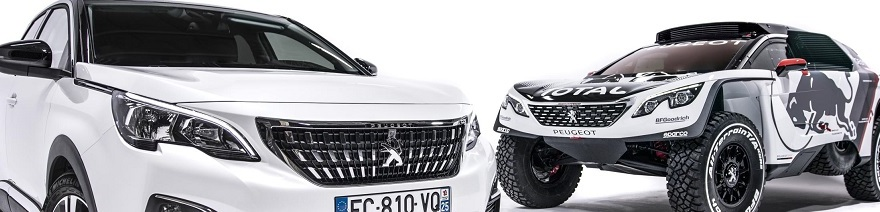 Peugeot 3008 Dakar Rally car. Image: Newspress/Peugeot