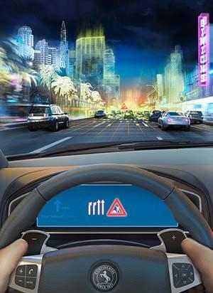 Autonomous cars.Image: Newspress