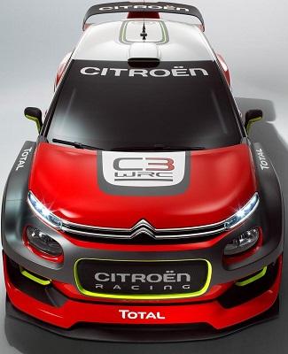 2017 Citroen World Rally car image: Newspress/Citroen