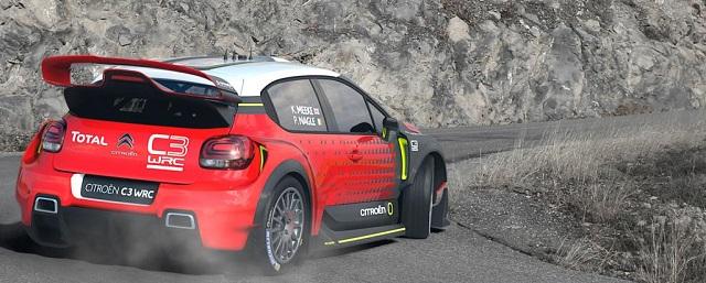 2017 Citroen World Rally car