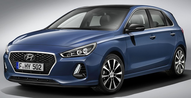 2017 Hyundai i30. Image: Newspress/Hyundai Motor
